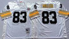 Pittsburgh Steelers Ben Roethlisberger Heath Miller Antonio Brown Throwback for mens(China (Mainland))