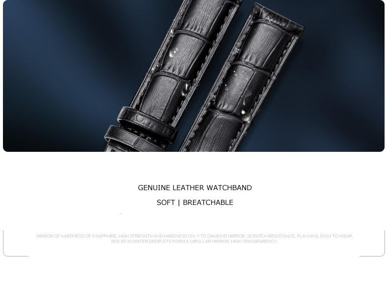 Parnis Королевский Seriers Световой Леди Женщин Кожаный Ремешок Моды Автоматические Механические Часы Наручные Часы