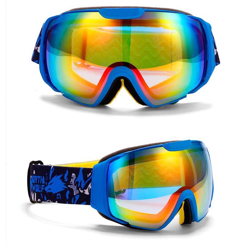 Winter outdoor Eyewear Ski eyes Men Women DOUBLE LENS,ANTI-FOG Large spherical ski goggles - Fashion Shopping Department store