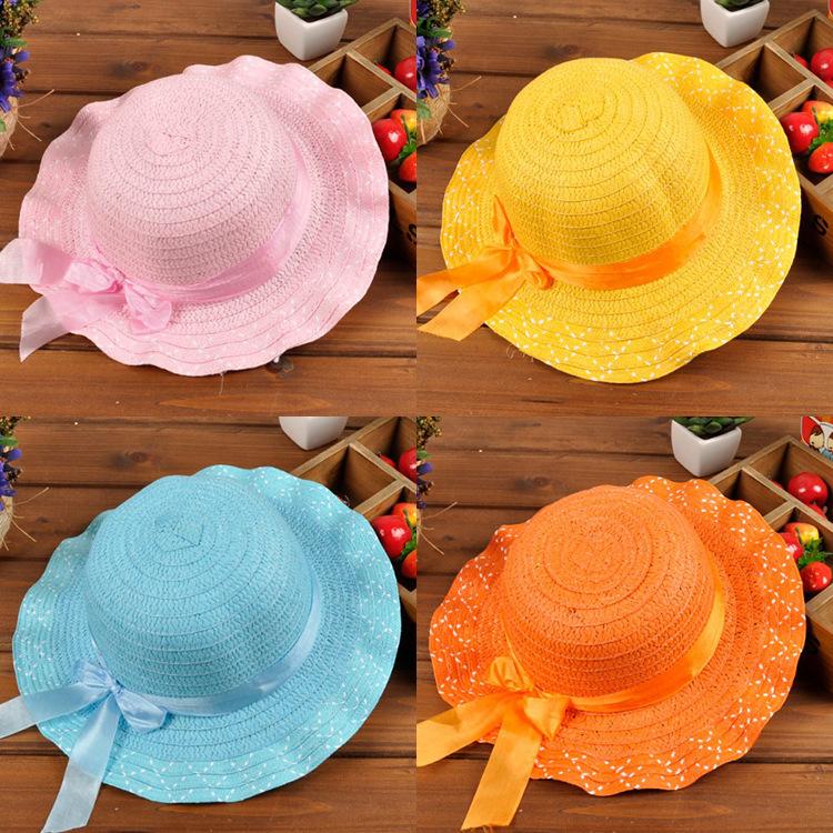 2015 New arrive fashion summer style girls sun hat children lovely hat hot saleОдежда и ак�е��уары<br><br><br>Aliexpress