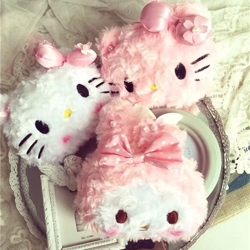 New cute Princess bag kitty Coin Purse hello kitty kt cat zero wallet expansion card bag coin pruses my melody(China (Mainland))