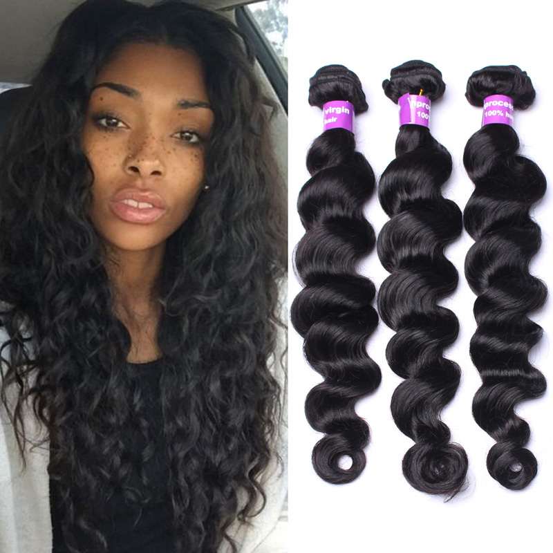 Brazilian Loose Wave Brazilian Curly Virgin Hair Sunny Queen Hair ...