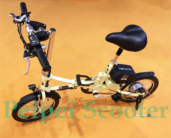 14 inch foldable standard type electric bike with lithium battery(pseb-26)(China (Mainland))