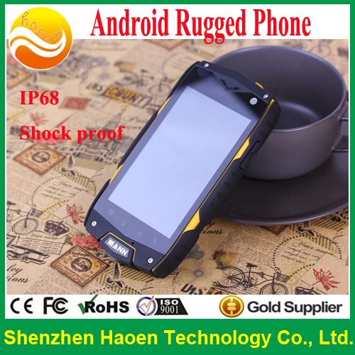 "Cheap!!! 2014 4.0 "" Best Rugged Phones GPS Dual-core waterproof IP68 Mobile Phones shockproof(China (Mainland))"