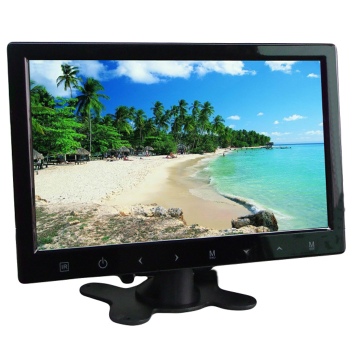 "Super Slim 10.2"" High Digital Screen TFT LCD Stand Alone Car Monitor Touch MP3 AV1(China (Mainland))"