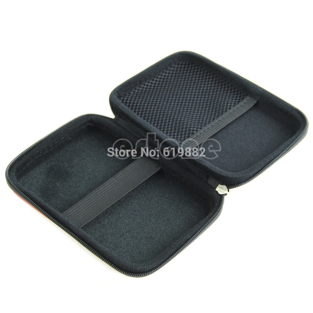Free Shipping Hand Carry Case Cover Pouch for 2 5 USB External WD HDD Hard Disk