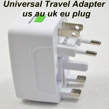 Freies Verschiffen Universal Adapter Steckdose Konverter Alle in Einem Travel Electrical Power Adapter US UK AU Eu-stecker(China (Mainland))