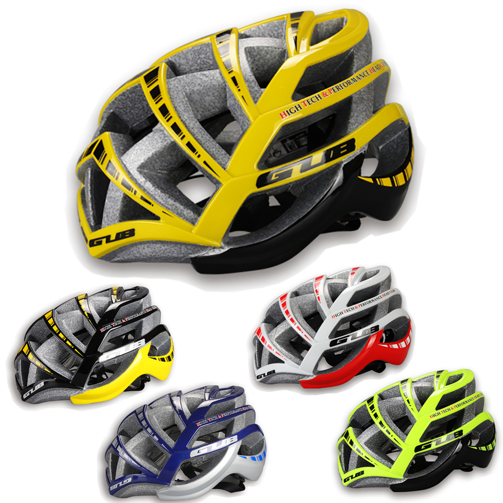 GUB STYLE Ultralight Cycling Unique MTB Mountain Road Racing Bicycle Bike safety Helmet Integrally-molded EPS+PC 26 air vents