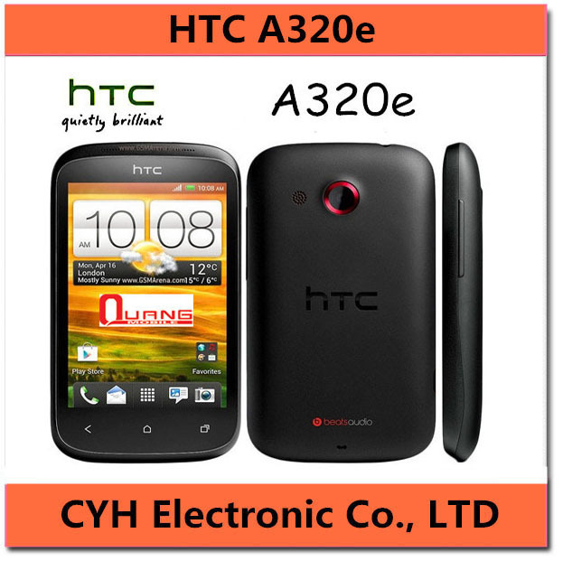Original Unlocked HTC Desire C A320e Cell phone Android GPS WIFI 3.5''TouchScreen 5MP(China (Mainland))