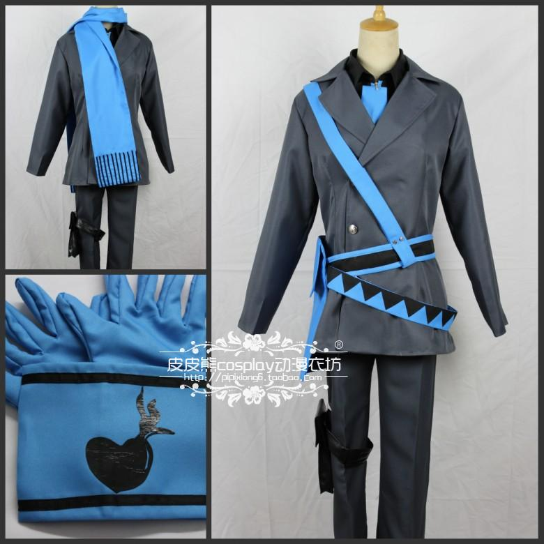 Free shipping ! 2013 new arrival Vocaloid cosplay uniforms vocaloid2 in love set Cartoon Character Cosumes CosplayОдежда и ак�е��уары<br><br><br>Aliexpress