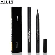 Новый Водонепроницаемый Жидкий Карандаш Для Глаз макияж Инструменты Eye Liner Pen AMIIR Бренд Сексуальные Женщины Косметика Естественный Прочного Гель Подводка Для Глаз Карандаш(China (Mainland))