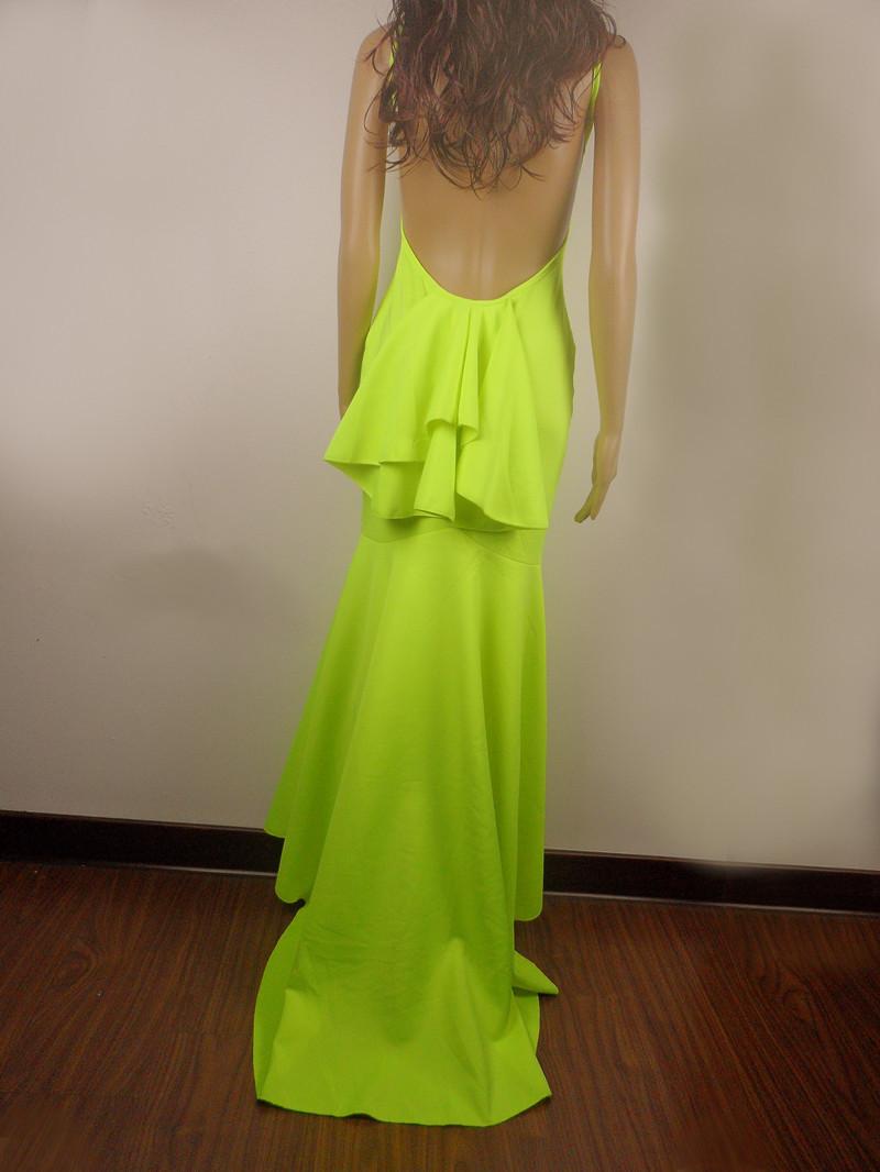 новые женщины длинные вечерние платья, элегантные vestido де Феста знаменитость партия Пром платья