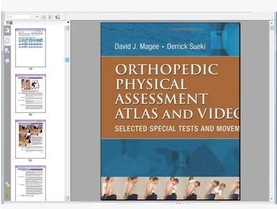 Orthopedic Physical Assessment Atlas and Video: Selected Spe (00)(China (Mainland))