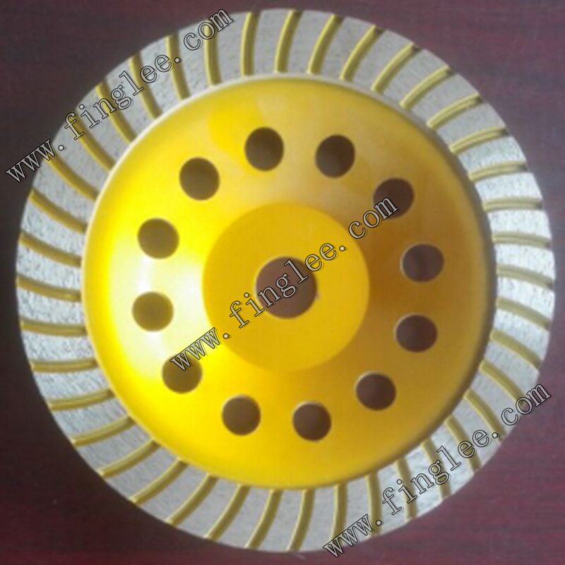 Фотография Diamond Cup Wheels 180mm for conrete stone 100% free courier shipping