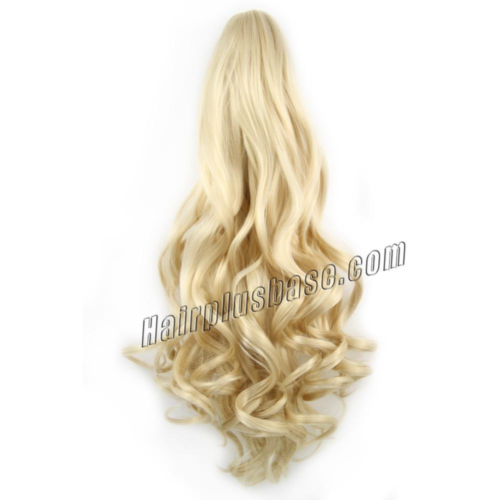 Ash Blonde Ponytail Extensions 48