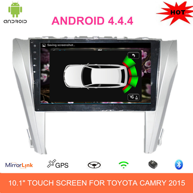 10.1 INCH CAR PC DVD PLAYER ANDROID 4.4 RDS BT GPS FOR TOYOTA CAMRY 2015(China (Mainland))