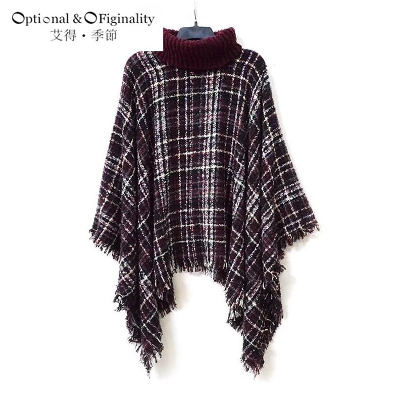 2016 Winter New Luxury Brand For Women Fashionable Oversized Stripe Scarves Plaid Shawls High Collar 180*130cm Around The Neck
