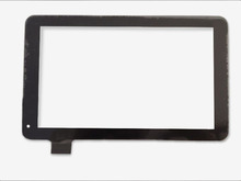 Brand new nero 9 pollice touch screen HS1286 v090 pannello di vetro del rimontaggio per pc da tavolo(China (Mainland))