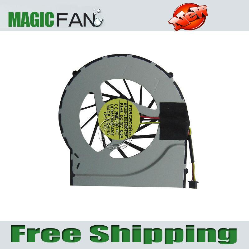 New CPU cooling fan for HP DV7 dv7-4000 DV6-3000 laptop cpu cooling fan cooler DFB552005M30T F9V8(China (Mainland))