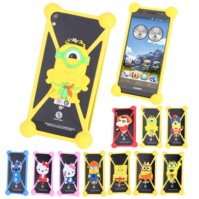 3d Minion Cartoon Case For Samsung Galaxy S4 mini S6 S7 edge Mobile Phone Bag Smart Phone Case Anti-knock Cover Case Accessory(China (Mainland))