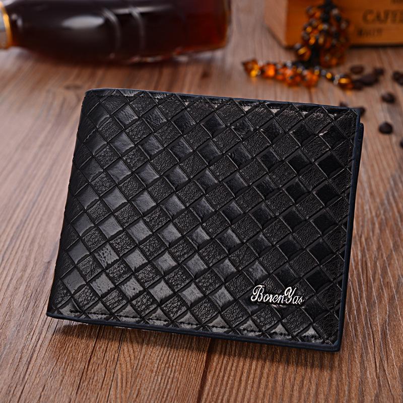mens designer wallets cheap grsb  Fashion Bag Men Purse Brand Cheap Designer Men's Wallet 2015 New Man  Leather Wallet No Zipper