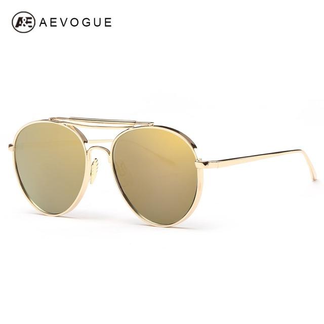 Aevogue очки женщины сплава рамки модной вождения очки мужская солнцезащитные очки óculos De Sol Feminino AE0307