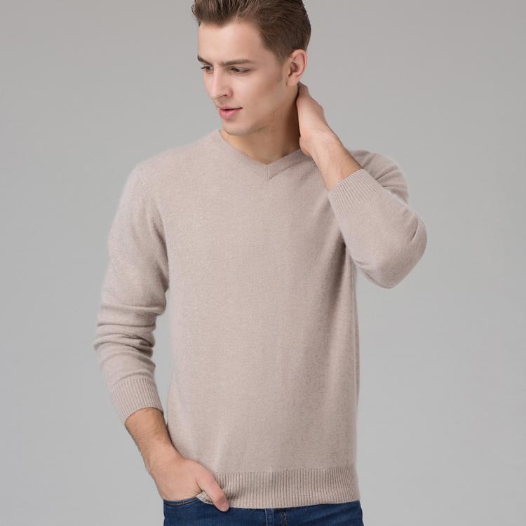 Мужской свитер 100% v/8color