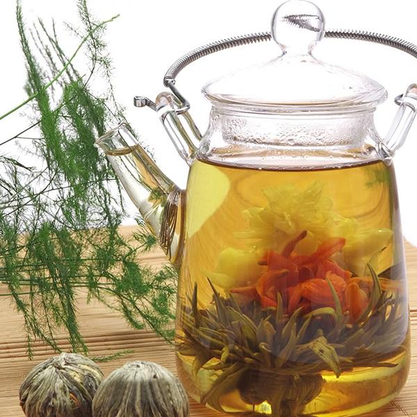 Chinese Handmade Blooming Flower Tea Ball Bloom Flower Herbal Green Tea 20 Kinds Hot