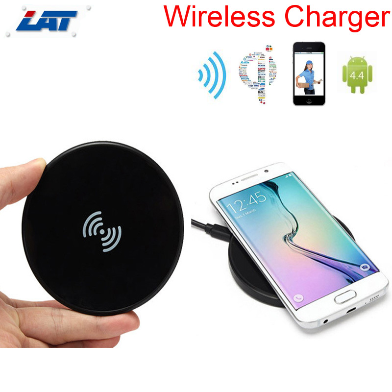 2016 Ultra-thin Slim Qi Wireless Charger Charging Pad +Wireless Charger Receiver for Samsung Galaxy S7/S7 Edge Top Quality(China (Mainland))