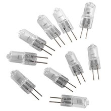 HOT SALE!10X G4 JC Type Halogen Light Bulb Lamp 12V 10W 10 Watt(China (Mainland))
