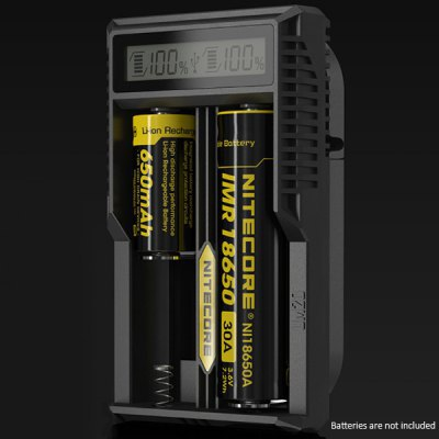 New Arrival Nitecore UM20 Smart Charger with High Definition LCD Display for 18650 18490 18350 10440 Batteries(China (Mainland))