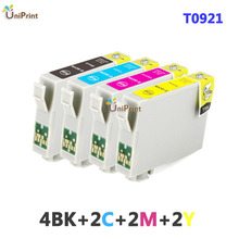 10 x compatible ink cartridges for EPSON T26 T27 TX106 TX109 TX117 TX119 C51 C91 CX4300 printe full ink r T0921 921N 92n(China (Mainland))
