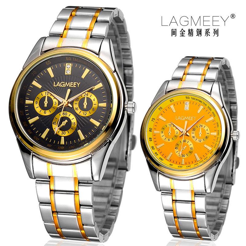 2015 LAGMEEY brand Quartz Watches Men's Casual Watch Fashion Relogio Feminino rhinestone water resistant Wristwatch - Xuke Products Store store