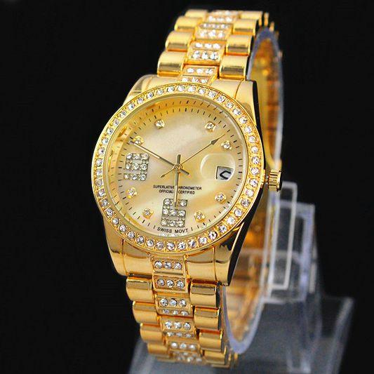 Гаджет  New Model Fashion women/man silver wristwatch lady dress watch with Calendar Best gift Top Luxury Design party watch free ship None Часы