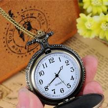 Buy Cindiry Eiffel Tower Paris Women Bronze Chain Necklace Pocket Watch P2 for $3.10 in AliExpress store