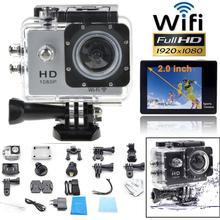 2015 Full HD WIFI wireless SJ4000 Waterproof 30M car cam Sports DV 1080P 12MP Action Camera