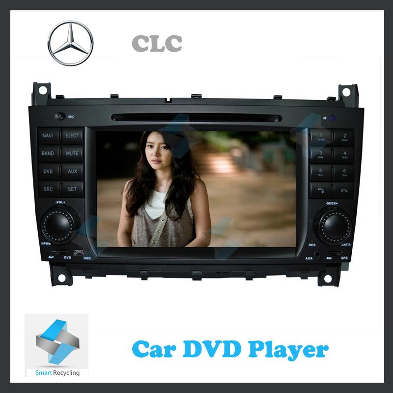 Car gps navigation Sat Nav DVD Player for MERCEDES BENZ CLC-CLASS 08-11 with GPS Navigation Radio TV USB SD iPod Bluetooth(China (Mainland))