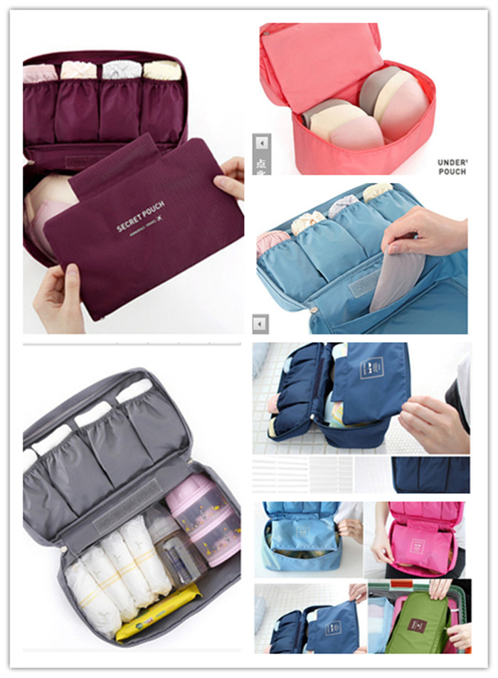 New 2015 Hot Sale Wholesale Price Underwear Storage Bag Home Storage Bag Sorting Bags Travel Bag Underwear Pouch(China (Mainland))