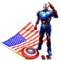 Marvel Anime figure Captain America Civil War PVC Action figure IRON MAN American Captain Kids Toys