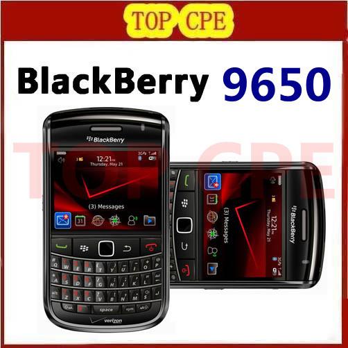 Original Unlocked BlackBerry Bold 9650 Cell Phone 3G GPS WIFI free shipping Refurbished phone(China (Mainland))