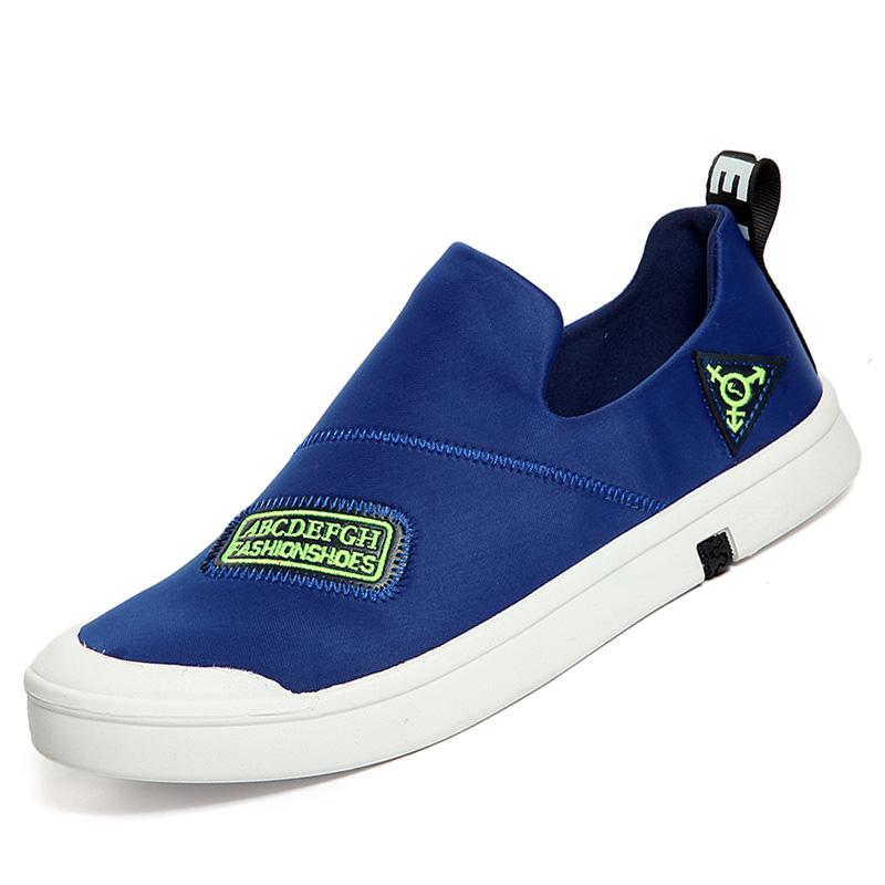 korean version new casual shoes fashion slip on