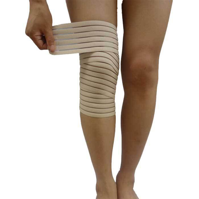 Knee Support/Mini Portable Elastic Patella Brace Wrap Adjustable Straps / Safety Sport Protector Compression Bandage Knee Belt(China (Mainland))