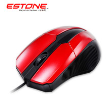 Estone Mini Wired Mouse M3 USB Mouse Fashion New Special Design Wired Optical Gaming Mouse with 3 Buttons for PC Computer Laptop(China (Mainland))