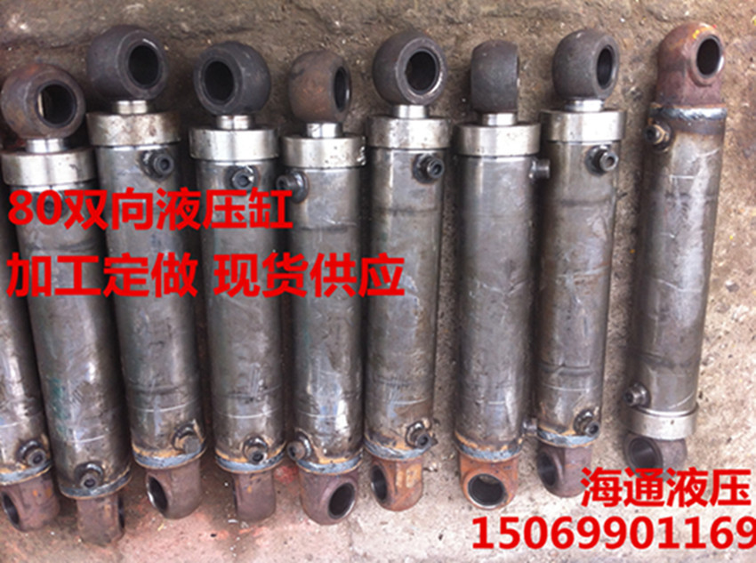 80-way processing custom hydraulic excavator cylinder double acting cylinder truck large concessions(China (Mainland))