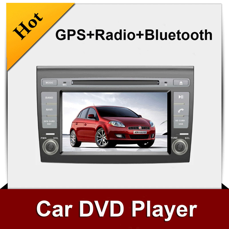 GPS Car DVD VCD Player Double 2 Din for FIAT BRAVO Radio BT Car Stereo in dash FM AM Bluetooth Video Audio Stereo Head Unit<br><br>Aliexpress
