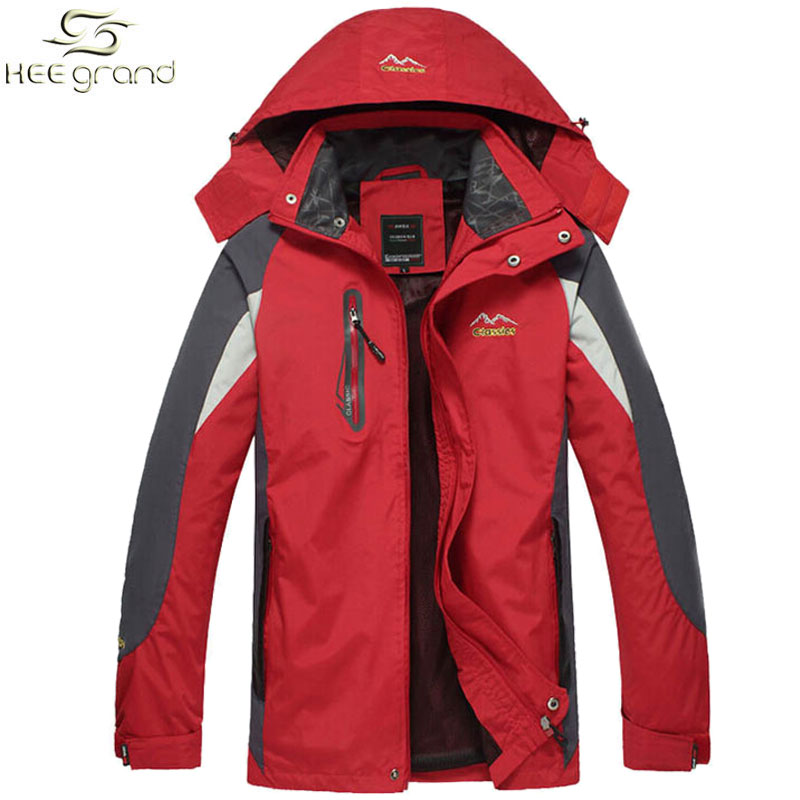 2016 Outdoor Jacket For Men With Hooded Outdoor Jaqueta Windproof Casual Sports Coat M-XXL 3 Colors MWJ998(China (Mainland))