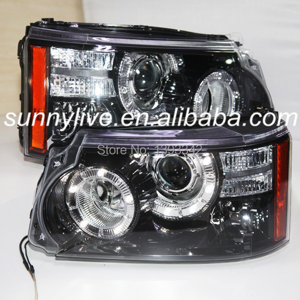 For Land Rover Range Rover Sport LED Headlight 2010 to 2012 year(China (Mainland))