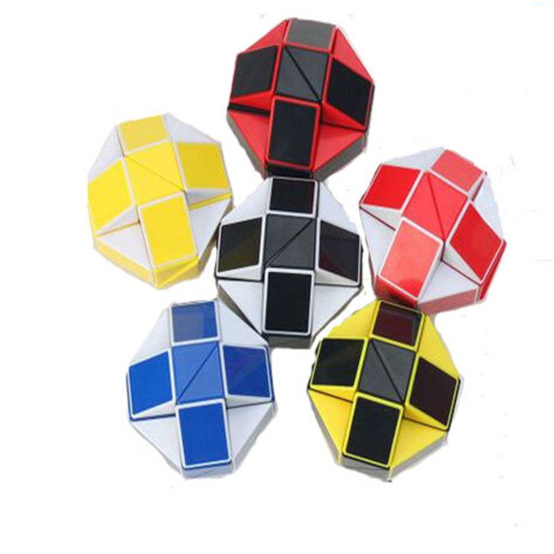New Six Colour 24 magic feet Children's Educational Toys Variety Magic Cube Section 24 Paragraphchildren Christmas gifts hl073(China (Mainland))