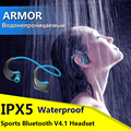 DACOM Armor IPX5 Waterproof Sports Headset Wireless Bluetooth V4 1 Earphone Ear hook Running Headphone with