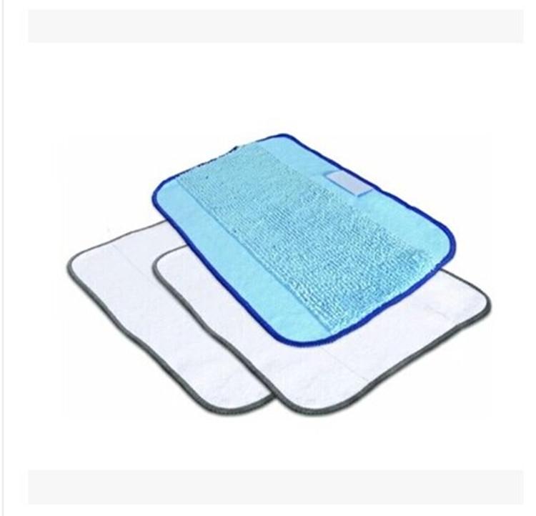3-Pack Mixed Microfiber Mopping Cloths for iRobot Braava 380 380t 320 Mint 4200 4205 5200 5200C Robot(China (Mainland))